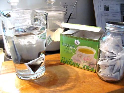 Green Iced Tea: My Healing Elixir