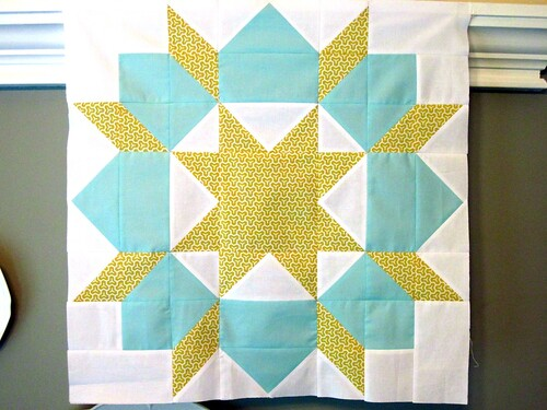 honeycomb swoon block
