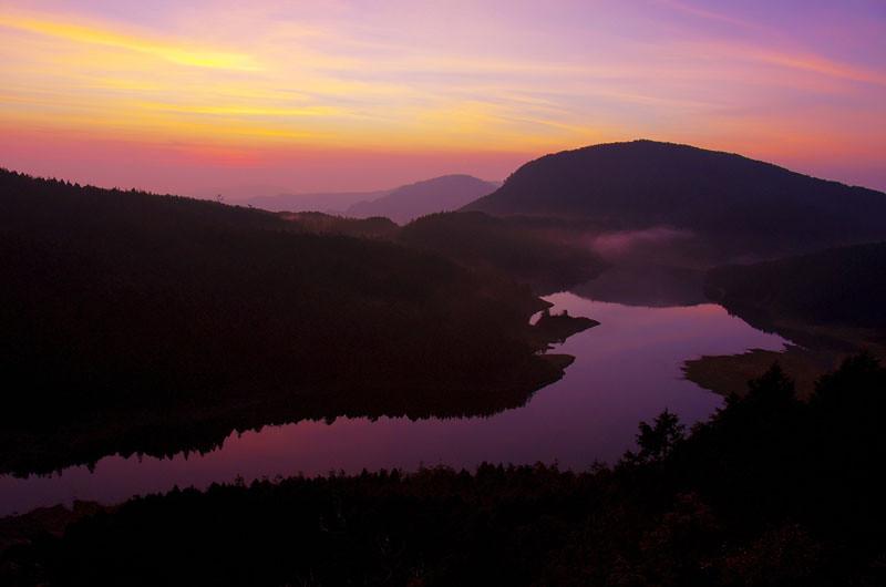 太平山翠峰湖日出