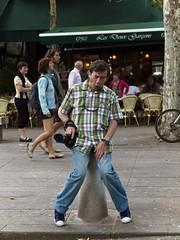 Mala suerte. (Sylole) Tags: france me yo moi aixenprovence francia fotgrafo germn almorranas hemorroides germanceballosalbalate
