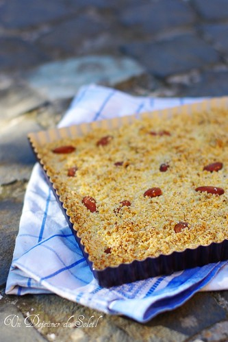 Sbrisolona: corn flour and almond crumble