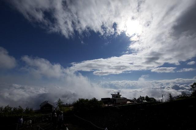 富士山 新五合目(富士宮口)