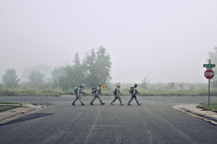 Abbey Road (Military Style)