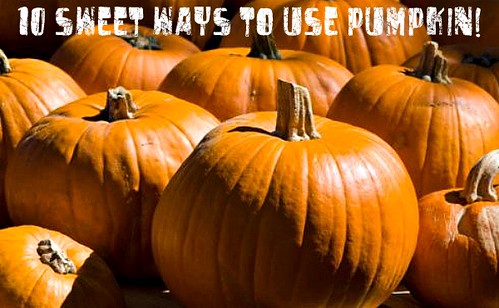 10 Sweet Ways to Use Pumpkin!