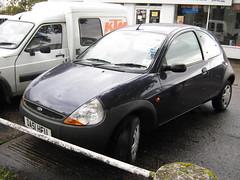 JANUARY 2002 FORD 1299cc KA DA51HFU (Midlands Vehicle Photographer.) Tags: 2002 ford january ka 1299cc da51hfu
