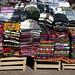 La varietà dei tessuti andini in Purmamarca