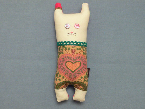 #47 Heart made Cat from Mamima collection by mamima project