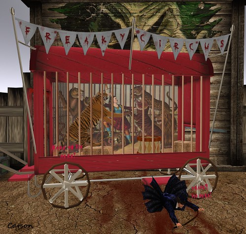 Hanaya- Yummy Collectibles - Freaky Circus Lion Tamer Wagon