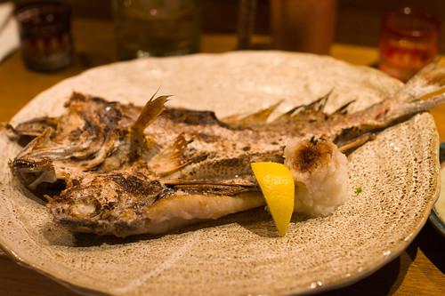 今日魚鮮是黑鰈燒魚
