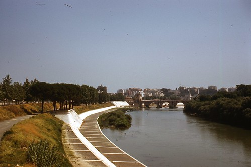 Roman Bridge & Tiber River
