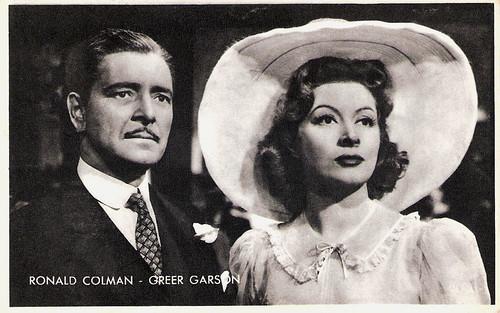 Ronald Colman, Greer Garson