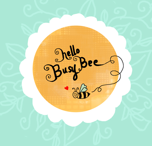 Busy Bee Lady Illustration by Marivic Ulep via define1lady.blogspot.com