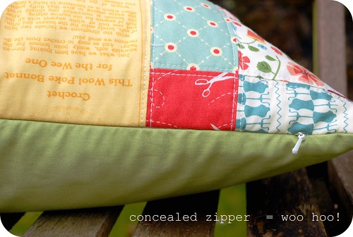 concealed zipper woo hoo