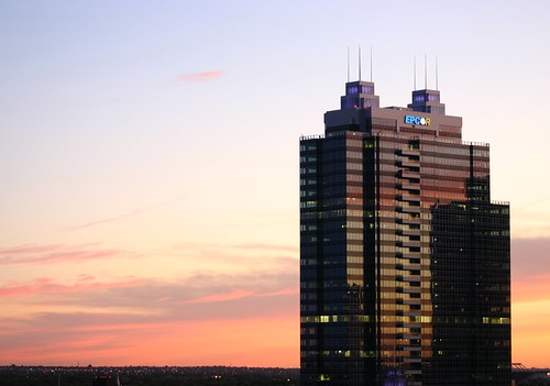 EPCOR Tower Light Up