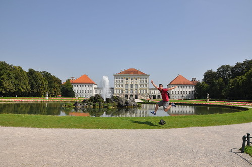 Schloss Nymphenburg - The postcard