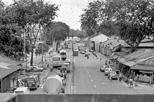 Upper Serangoon Rd (Simon Road on right)