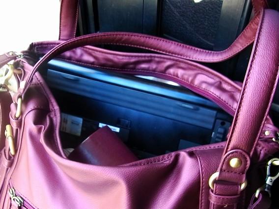 ThinkPadを『マルイのラクチン快適バッグ2011 』に入れた