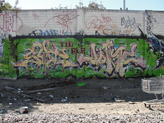 GUT / JOKE (Same $hit Different Day) Tags: graffiti bay gut joke east alb tio