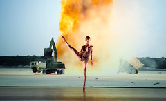 Akane Takada in Live Fire Exercise © Bill Cooper/ROH 2011