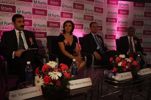 Fortis lisa ray Spirit of Life award coverage
