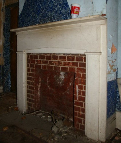 Fireplace, southeast room, first floor