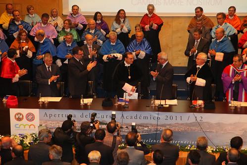 Acto de apertura del curso 2011/2012