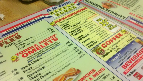 Day 250/365: Gotta Have Waffle House