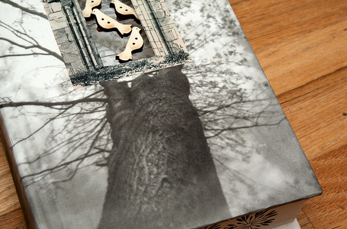 Altered Books: The Dovecote - detail