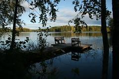Mynnilänalanen (csaavedra) Tags: lake finland sysmä mökki mynnilänalanen