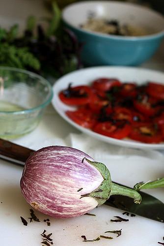 Grilled Eggplant Parmesan | eggplant recipes | grilling recipes | low carb recipes | keto recipes | gluten-free recipes | perrysplate.com