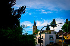 Church Tower (lux4life) Tags: other places churchtower luxembourg kirke limpertsberg