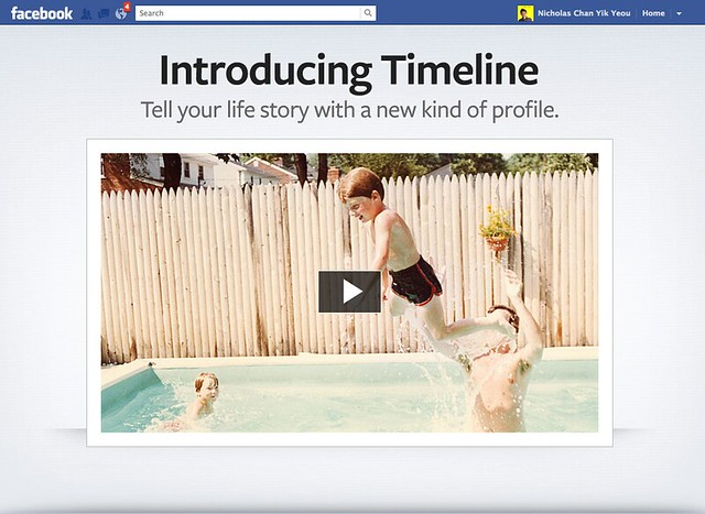 Facebook Timeline - The New Facebook Profile