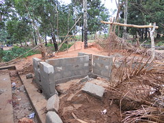 building pylon for water tank