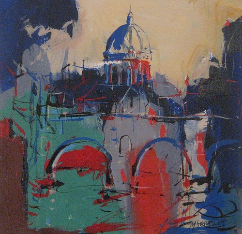 Venice Painting - Sketch