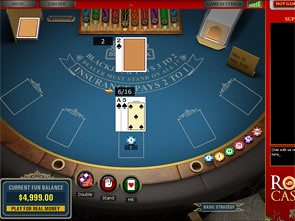 Royale Blackjack game