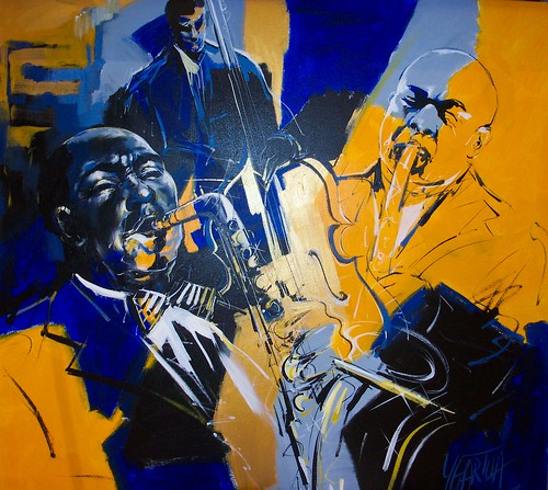 New Orleans Jazz - Painting