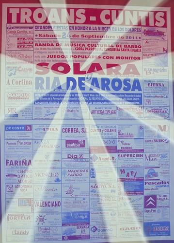 Cuntis 2011 - Festa das Dores en Troáns - cartel