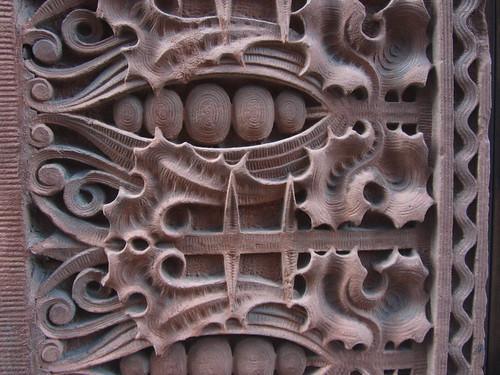 carved brownstone