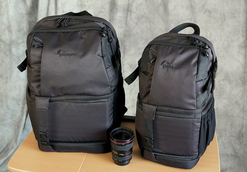 Fastpack 250 and 150 Side by Side