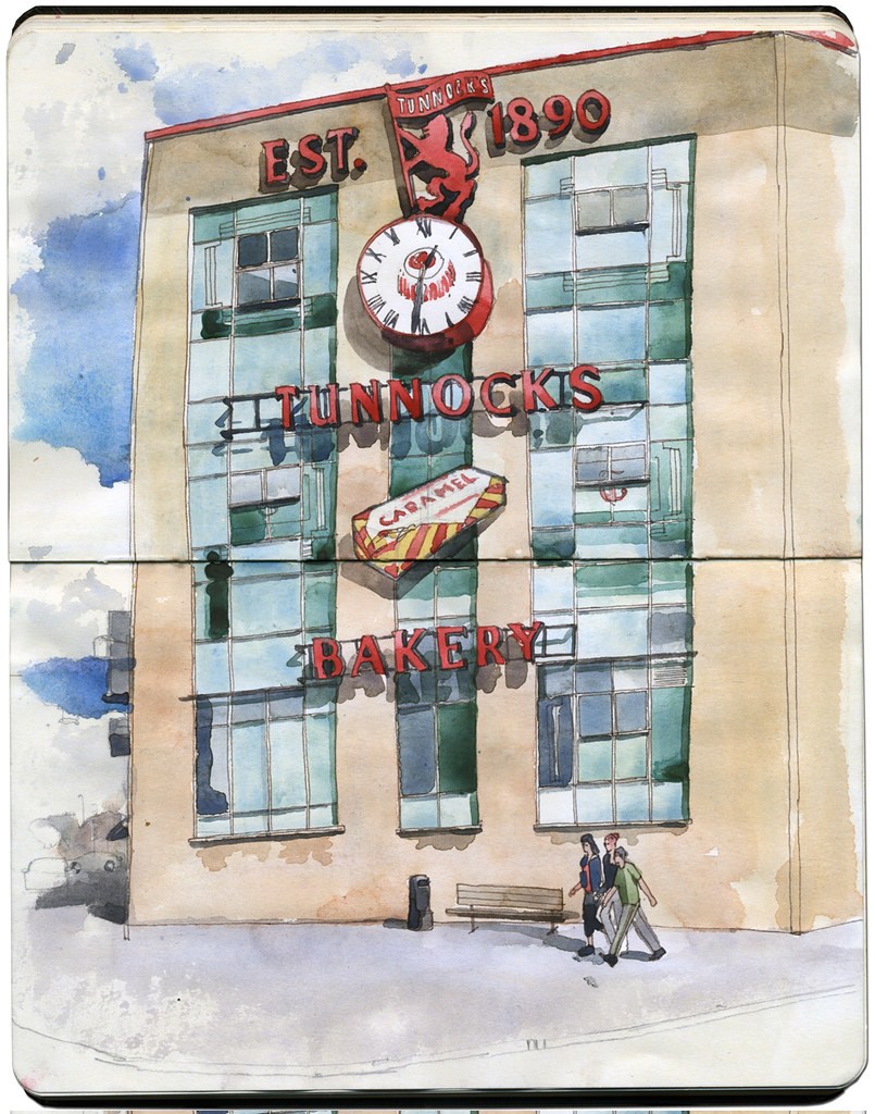 Tunnocks Bakery