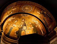 Friedenkirche (campra) Tags: church germany gold mosaic jesus sanssouci potsdam schlosspark apse friedenskirche