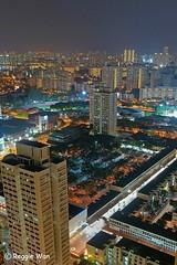 Toa Payoh & Beyond #2. (Reggie Wan) Tags: urban building architecture night singapore asia southeastasia cityscape central aerialview highrisebuilding toapayoh asiancity reggiewan sonya850 sonyalpha850 gettyimagessingaporeq1