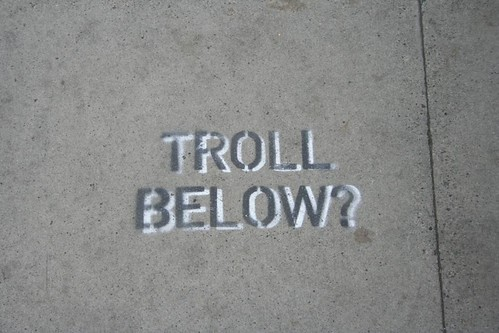 Troll Below?