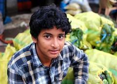 Vegetable Seller in Madivala Market, Bangalore (Purnendu Mukherjee) Tags: india bangalore markets earlymorning culture streetphotography karnataka southindia madivala koramangala vegetableseller madivalamarket btmlayout