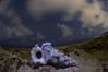 My ear is a shell (masahiro miyasaka) Tags: travel blue sky beautiful japan wonderful stars wonder iso3200 star pentax shell astrophotography 日本 wallpapers startrail earthandsky 星 pantax Astrometrydotnet:status=failed