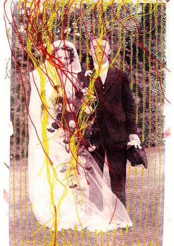 1940's wedding day