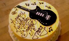 Music/Guitar Cake
