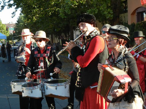 Marching band at Handcar Regatta 2011