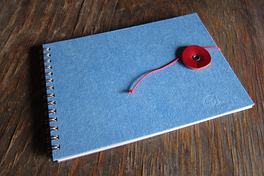 KAKIMOR's semi-custom made notebook