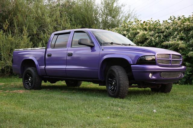 2004 purple dodge dakota dodgedakota 2004dakota